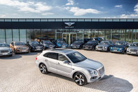 Bentley marks first Bentayga deliveries to customers