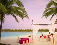 Honeymoon like a celebrity in the Maldives