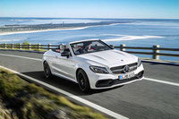 The new Mercedes-AMG C 63 Cabriolet: Open-air performance for the C-Class