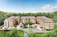 Fresh selection of apartments now on sale at Papermill Lock, Little Paxton