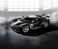 All-new 2017 Ford GT '66 Heritage Edition pays homage to 1966 Le Mans winner
