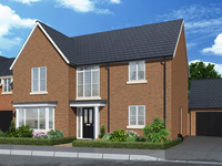 Countdown to double show home opening at popular Copperfields development