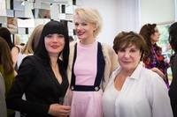 Elena Hunt with Chloe-Jasmine Whichello and Esther Fieldgrass