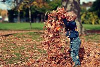 Kids spend just 8 hours a week playing outdoors