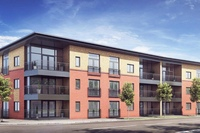 Quayside Apartments at Diglis Water.