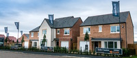 Buyers admire Bellway's new show homes at Stephenson Park