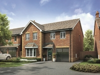 Make a fresh start this year in a new family home at Burlington Fields, Shifnal