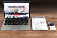 Two websites become one for commercial vehicle company
