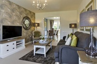 New homes sales from plan on the rise at Market Harborough development