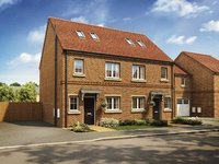First time buyer homes ready to move into at North Yorkshire village development