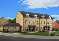 Pic cap: Coming soon – brand new homes to Market Weighton