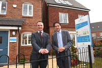 James Morris MP praises new £33.6m housing development