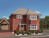 Three-bedroom Leamington from Redrow's Heritage Collection