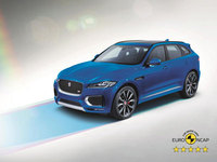 Jaguar F-Pace secures five-star safety rating