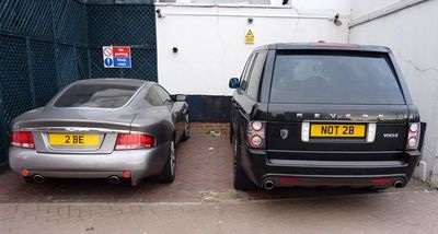 Aston Martin & Range Rover