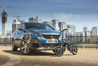 Peugeot solves commuter's 'last mile' problem with the innovative eF01 folding electric bike
