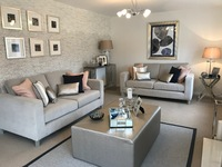 The show homes are among the final properties available at Canalside, Middlewich.