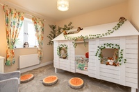 The show home at The Woodlands, Dinas Powys features a fun children's bedroom, inspired by the nearby woodland.